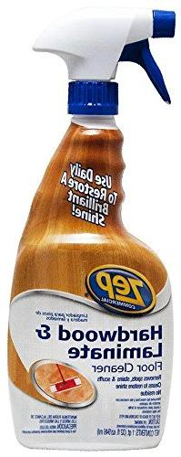 Zep Commercial - Hardwood and Laminate Cleaner, 32 oz Spray