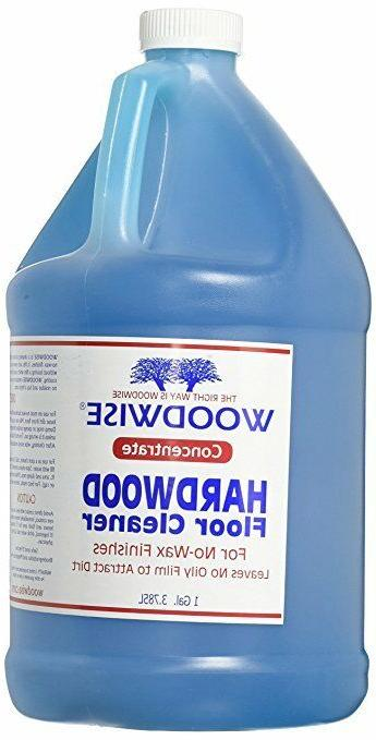 Woodwise® 1 Gallon Concentrate No-Wax Hardwood Floor Cleane