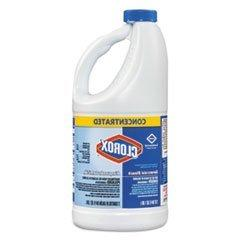 Clorox Concentrated Bleach, Regular, 64 Ounce Bottle