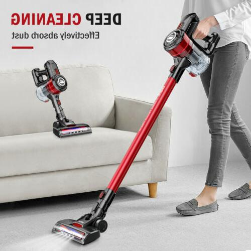 ONSON New Cordless Handheld Stick Vacuum Cleaner 2 in 1 LED