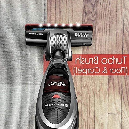 Roomie Tec Cordless Vacuum Cleaner, in Handheld Li-ion Battery, with Corner and Charging Base