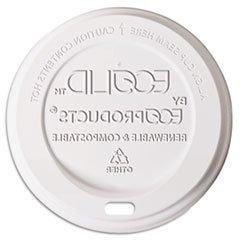 * Hot Cup Lid, 8 oz, Translucent, 800/Carton