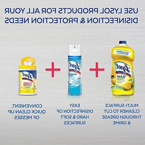 Lysol Clean Multi-Surface Cleaner, Sunflower, 48oz