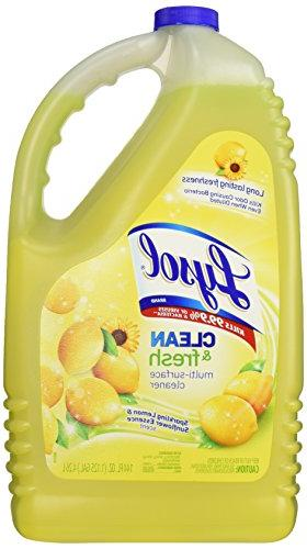 Lysol Clean Multi-Surface Cleaner, Lemon & Sunflower, 144oz