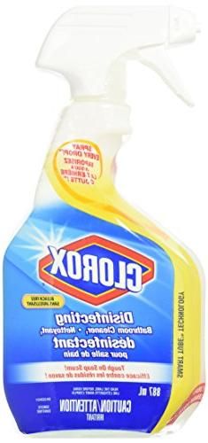Clorox Disinfecting Bathroom Cleaner Spray - 30 oz - 2 pk