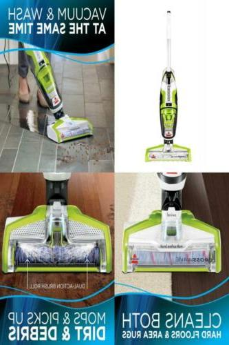 Dual-Action Multi-Surface Roll Brush Floor & Carpet Cleaner