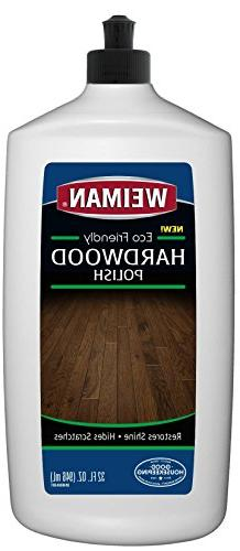 Weiman Ecofriendly Wood Floor Polish - 32 Fluid Ounces - Saf