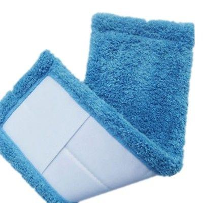 Flat Mop Household Mop Head Microfiber Dust Cleaning Pad COLORS