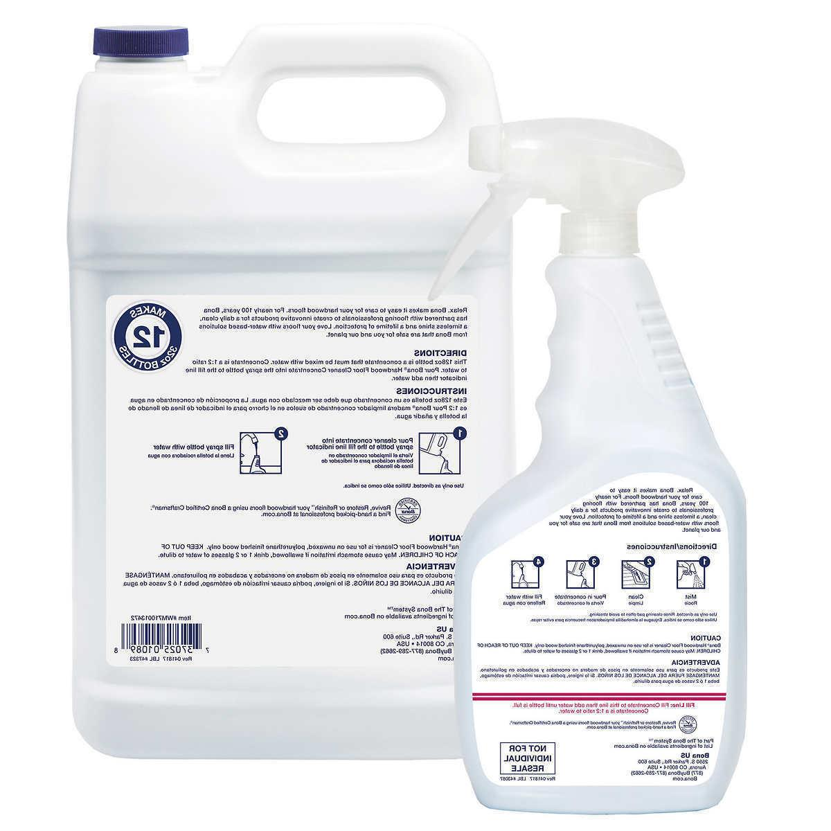 Bona Cleaner Concentrate 128 oz. Refill 32 Spray