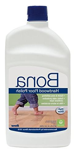 Bona Hardwood Floor Polish- High Gloss- Value Pack of 64 Oun