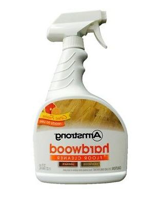 New Armstrong Hardwood and Laminate Floor Cleaner 32 oz Citr