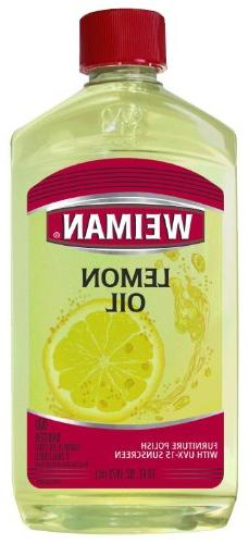 Weiman Lemon Oil Furniture Polish, 16 Oz.