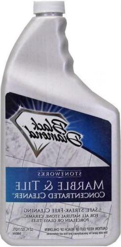 Black Diamond Stoneworks MARBLE & TILE FLOOR CLEANER. Great