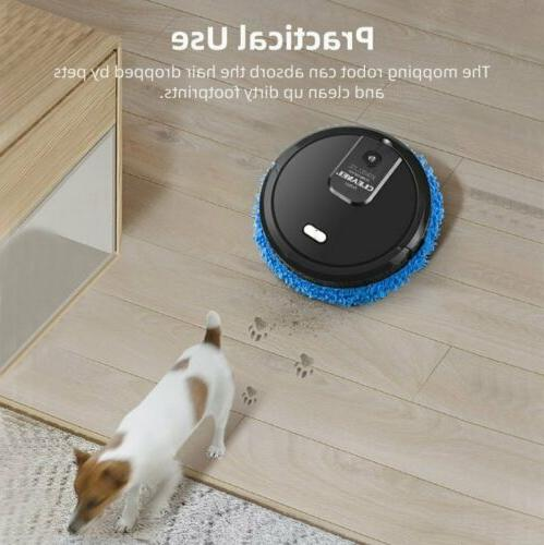 Mopping Vacuum Cleaner Wiping Wet