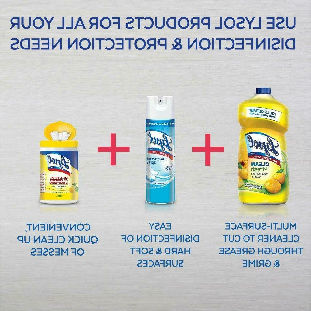 Lysol Surface Floors Bath Spring Clean