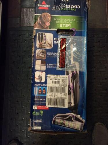 NEW BISSELL Vacuum Cleaner CrossWave Pet Pro Plus All-in-One Dry Wet