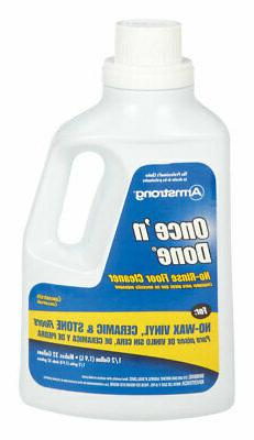 Armstrong  Once'N Done  Citrus Scent Floor Cleaner  Liquid