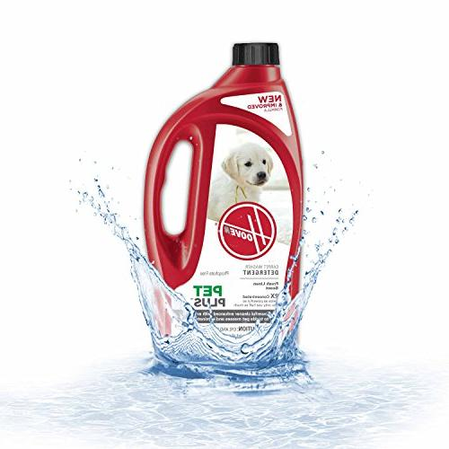 Hoover PetPlus Pet Stain & Odor Remover Solution Formula,