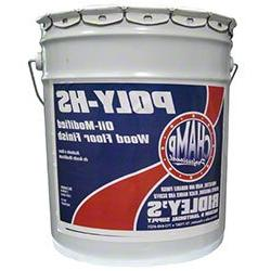CHAMP Champ Poly-HS Oil-Modified Wood Floor Finish - 5 Gal.