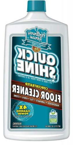 Holloway House Quick Shine Concentrated Floor Cleaner 27 Oz