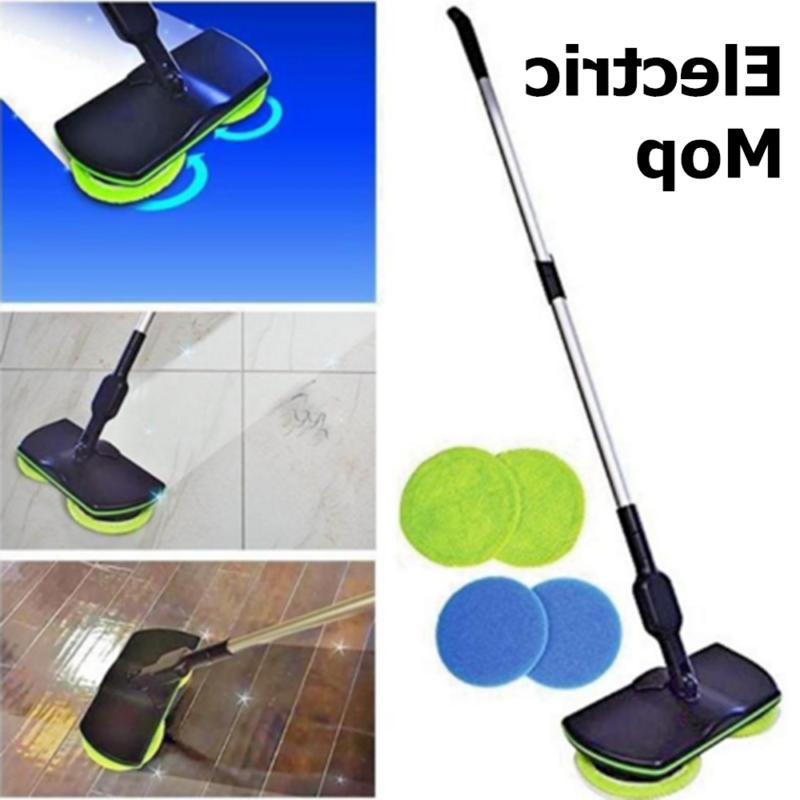 Rechargeable Spin Power Floor Polisher Mop