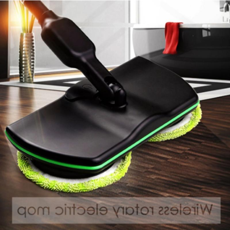 rechargeable electric spin cordless power floor cleaner