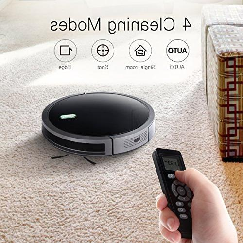 Robot Vacuum with 1400Pa Suction, Battery, Technology Self-Charging Robotic Cleaner for Hard for Hair Allerg