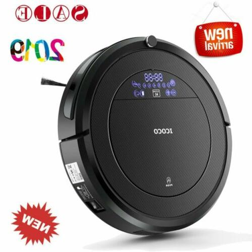 robotic vacuum cleaner with 4 cleaning modes