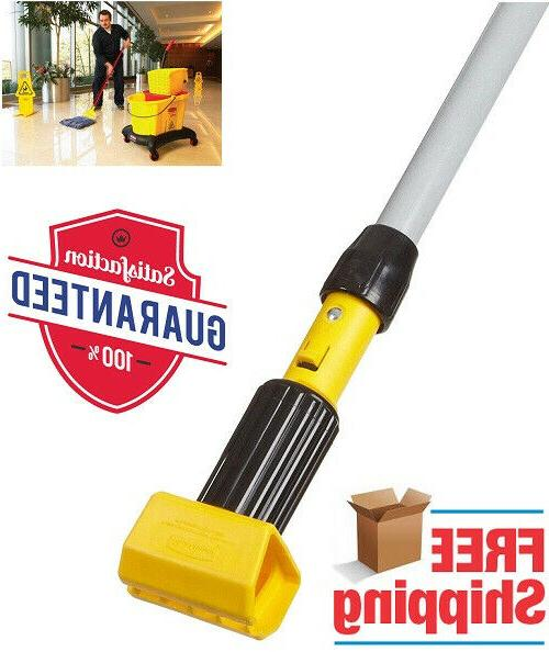 Rubbermaid Wet Mop Commercial Gripper Clamp Style Handle Flo