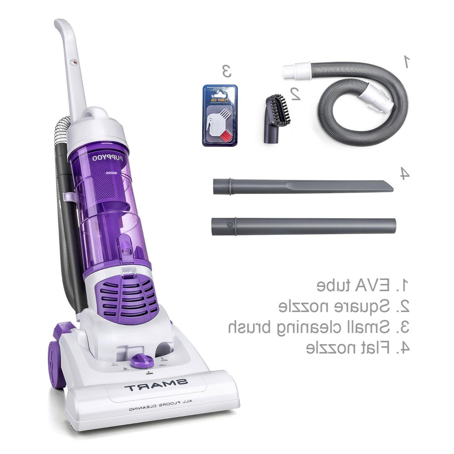 PUPPYOO Upright Cleaner Bagless Corded Portable 1200W 2.9L