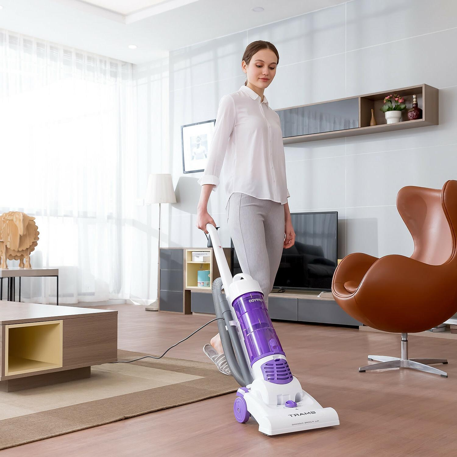 PUPPYOO S6 Upright Cleaner Bagless Lightweight Portable
