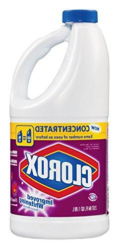 Clorox Bleach Concentrated Fresh Meadow Scent 64 Oz