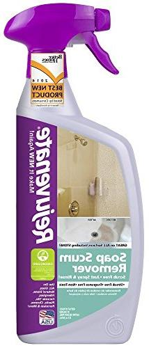 Rejuvenate No Scrub Soap Scum Remover Non Toxic Spray Rinse
