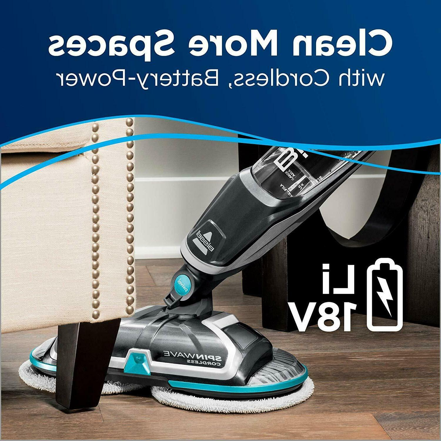 Bissell Spinwave Cordless Hard Mop, and Buffer,