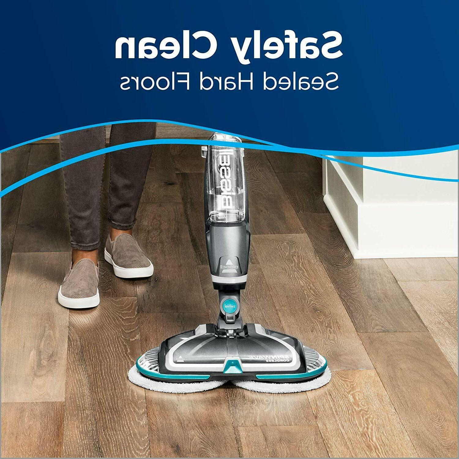 Bissell Mop, Wood Floor Cleaner and 2315A, Silver