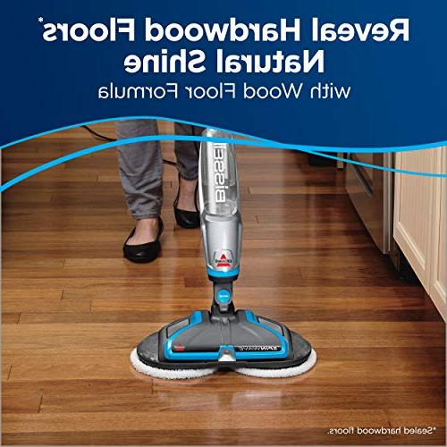 BISSELL Spinwave Plus Floor Cleaner and Silver