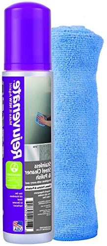 Rejuvenate Stainless Steel Cleaner and Polish Kit – Includ