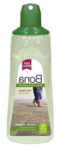 Bona 34-Ounce Stone, Tile & Laminate Floor Cleaner Refill Ca
