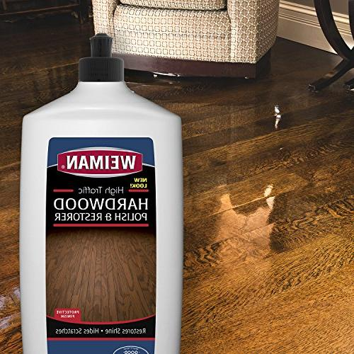 Weiman Hardwood Cleaner & High-Traffic Shine, Protective Layer