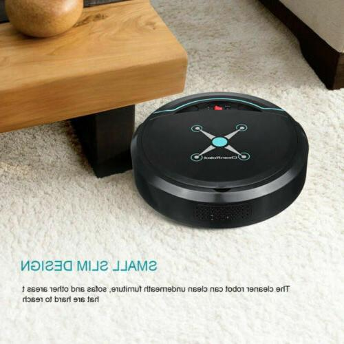 USB Rechargeable Smart Cleaner Robot Carpet Mop Floor