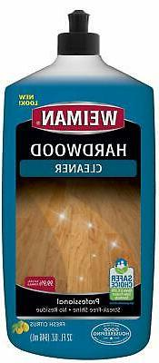 Weiman Wood Floor Cleaner - 32 Ounce - For Hardwood, Finishe