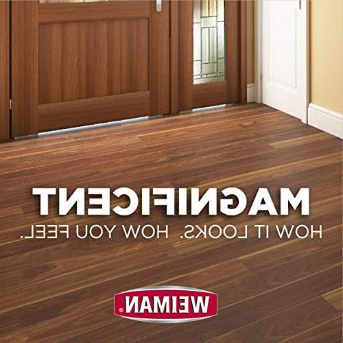 Weiman Floor - 2 High-Traffic Hardwood Floor, Natural Shine, Removes Scratches, Leaves Protective Layer