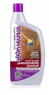 Rejuvenate 32oz. Professional Wood Floor Restorer with High
