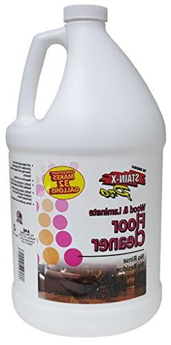 Stain-X PRO Wood and Laminate Floor Cleaner Concentrate - 12
