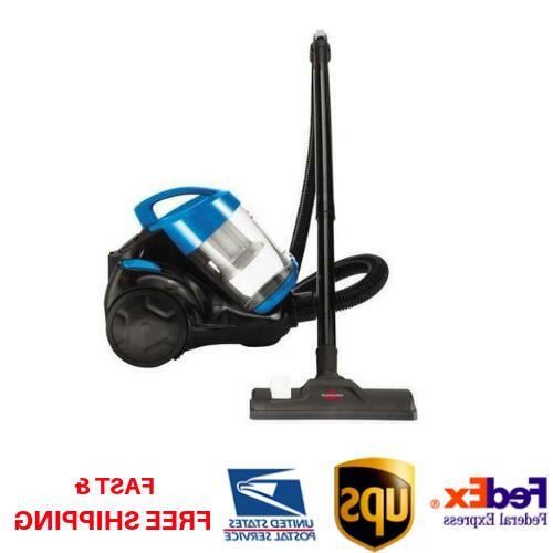 zing bagless canister vacuum cleaner carpet hard