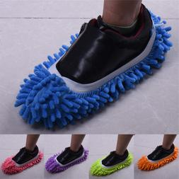 Lazy Dusting Cleaning Foot Cleaner Shoe Mop Slipper Floor Po
