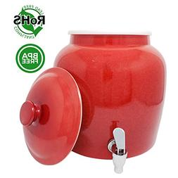 Premium Lead-Free Porcelain Beverage Dispenser With Matching