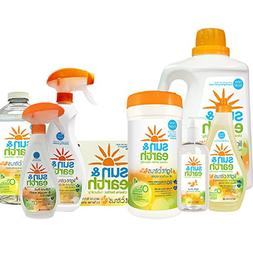 Sun & Earth Natural Light Citrus Power Cleaning Bundle