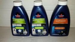 Lot 2 Bissell Multi-Surface Pet Floor Cleaner Formula 8oz Ea