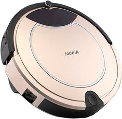 Aidbot Luxury Golden Smart Robotic Vacuum Cleaner Strong Suc